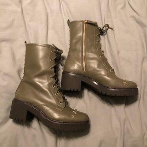 Michael Kors Star Combat Boots